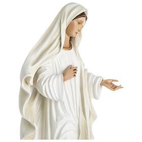 Nuestra Señora de Medjugorje estatua fibra de vidrio 60 cm. s7