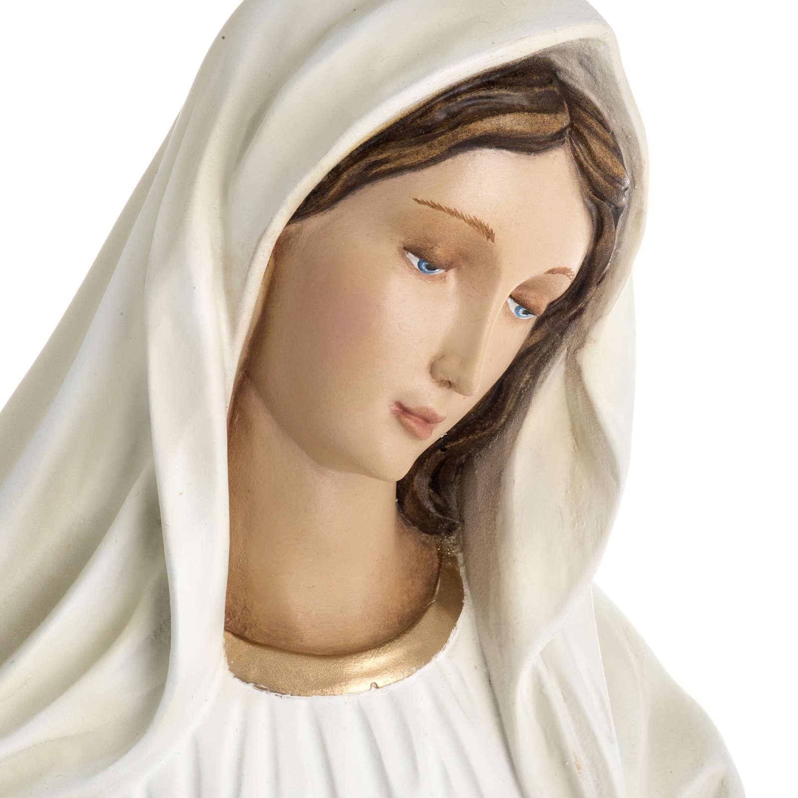 Madonna Medjugorje vetroresina 60 cm 4