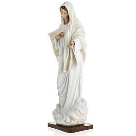 Madonna Medjugorje vetroresina 60 cm s13