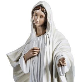 Madonna Medjugorje vetroresina 60 cm s18