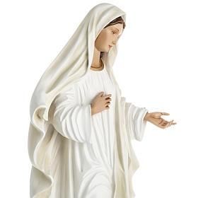 Madonna Medjugorje vetroresina 60 cm s17