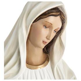 Madonna Medjugorje vetroresina 60 cm finitura speciale s4