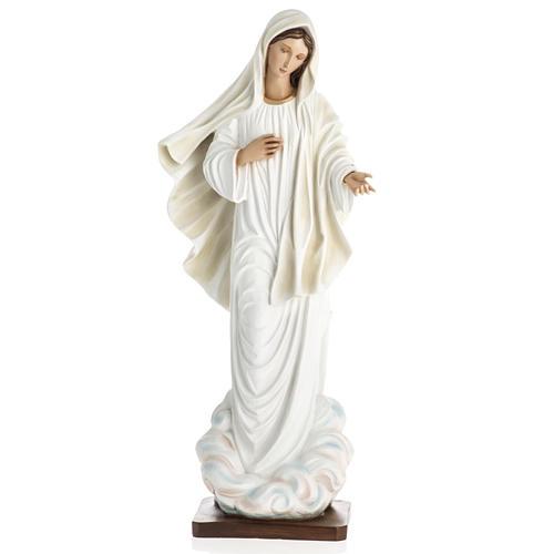 Madonna Medjugorje vetroresina 60 cm 2