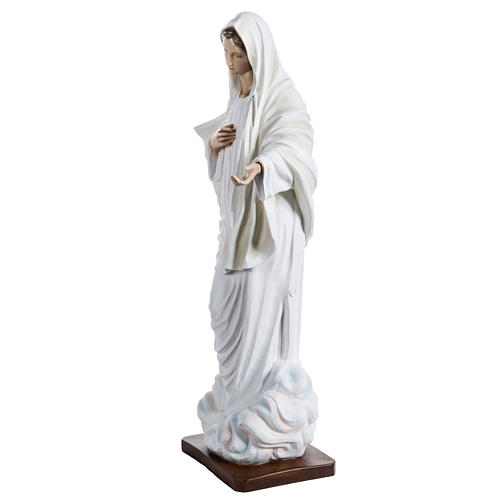 Madonna Medjugorje vetroresina 60 cm 7
