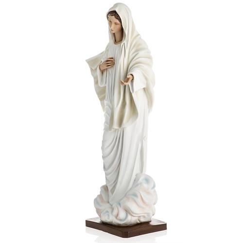 Madonna Medjugorje vetroresina 60 cm 13