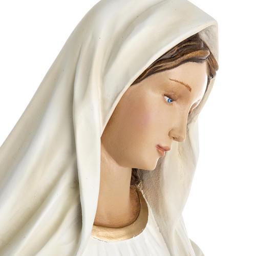 Madonna Medjugorje vetroresina 60 cm 15