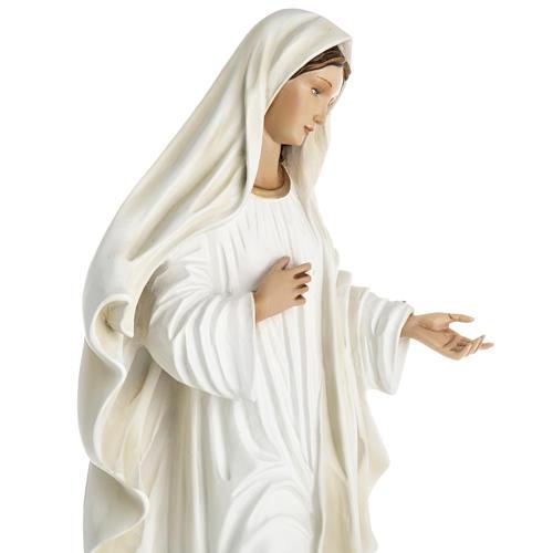 Madonna Medjugorje vetroresina 60 cm 17