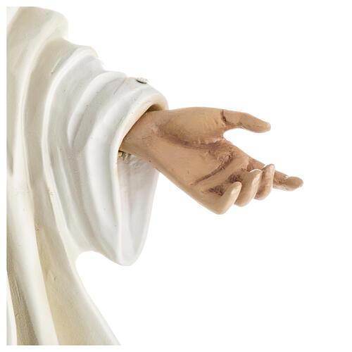 Madonna Medjugorje vetroresina 60 cm finitura speciale 3