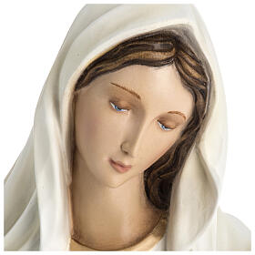 Our Lady of Medjugorje statue in fiberglass 60 cm, special finish s2