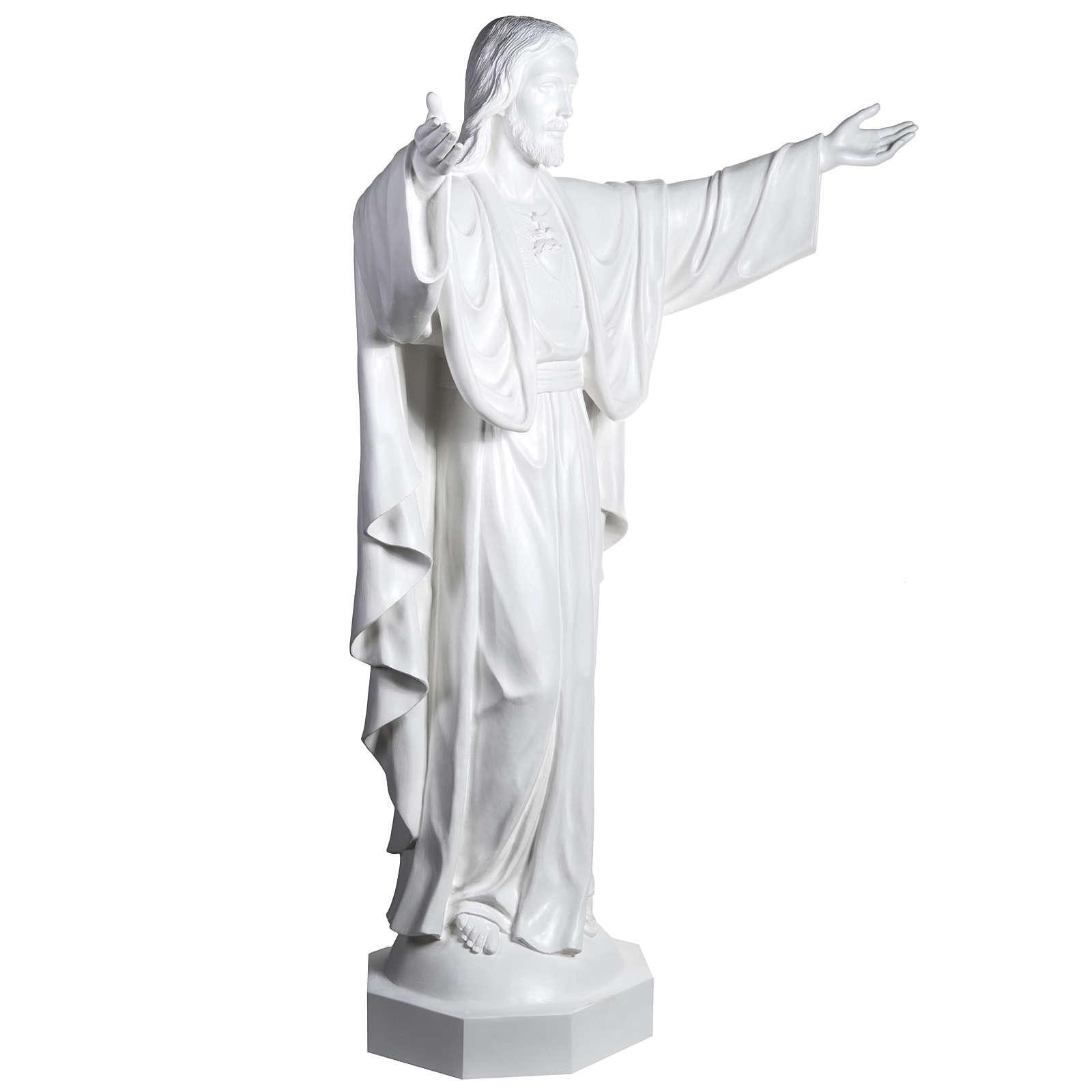 Cristo Redentor 200 cm. fibra de vidrio 4