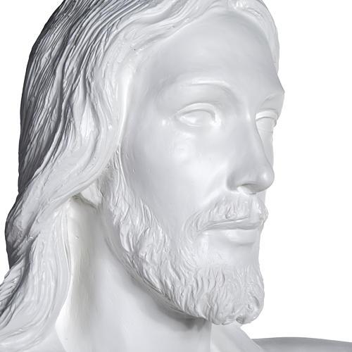Cristo Redentor 200 cm. fibra de vidrio 9