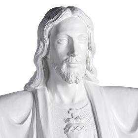 Gesù Redentore 200 cm vetroresina bianca s2