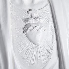Gesù Redentore 200 cm vetroresina bianca s3