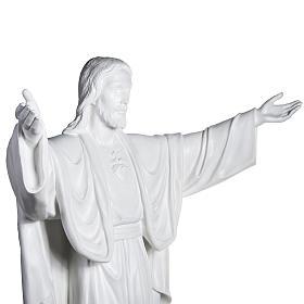 Gesù Redentore 200 cm vetroresina bianca s6