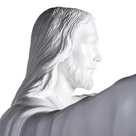 Gesù Redentore 200 cm vetroresina bianca s7
