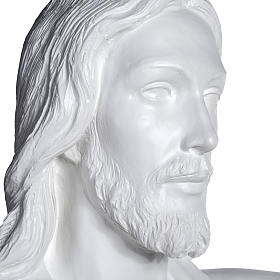 Gesù Redentore 200 cm vetroresina bianca s9