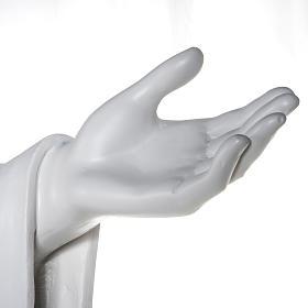 Gesù Redentore 200 cm vetroresina bianca s10