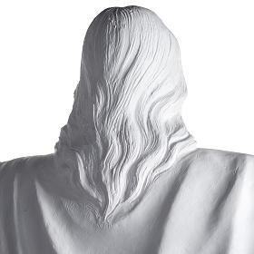 Gesù Redentore 200 cm vetroresina bianca s12