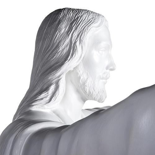 Gesù Redentore 200 cm vetroresina bianca 7