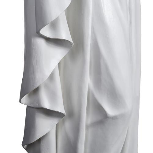 Gesù Redentore 200 cm vetroresina bianca 8