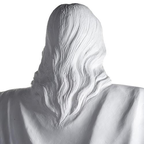 Gesù Redentore 200 cm vetroresina bianca 12