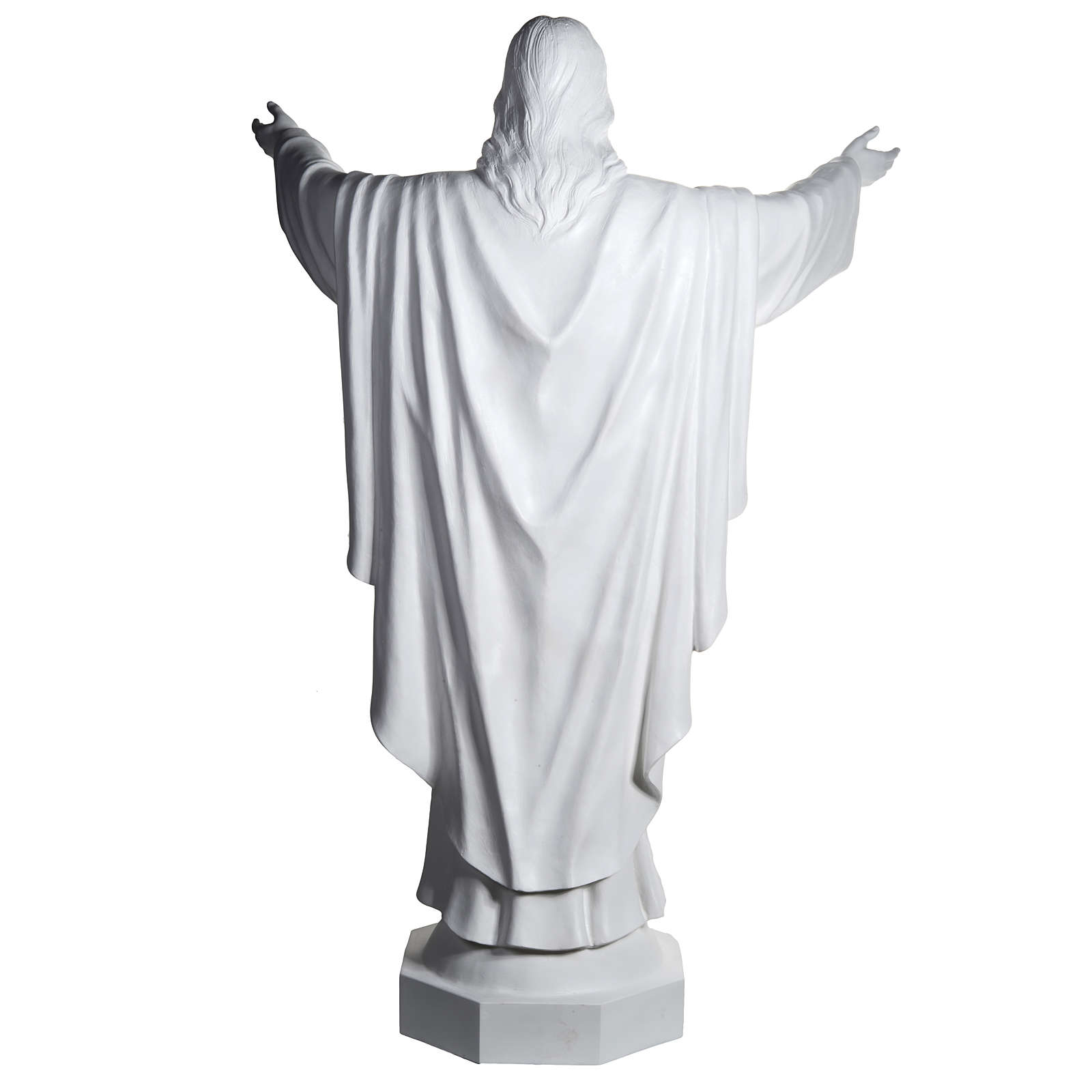 Christ the Redeemer, fiberglass statue, 200 cm 4