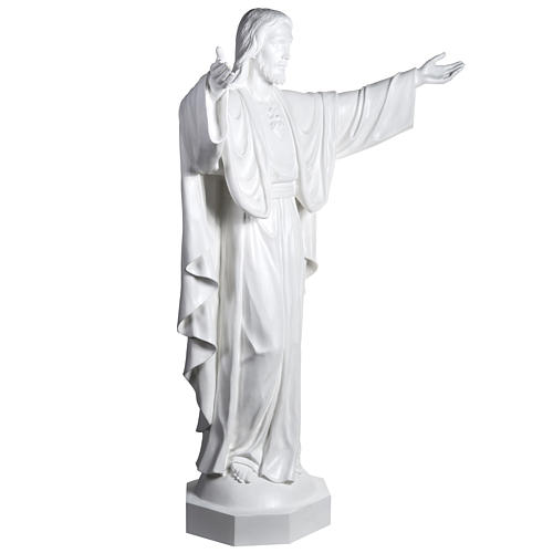 Christ the Redeemer, fiberglass statue, 200 cm 5
