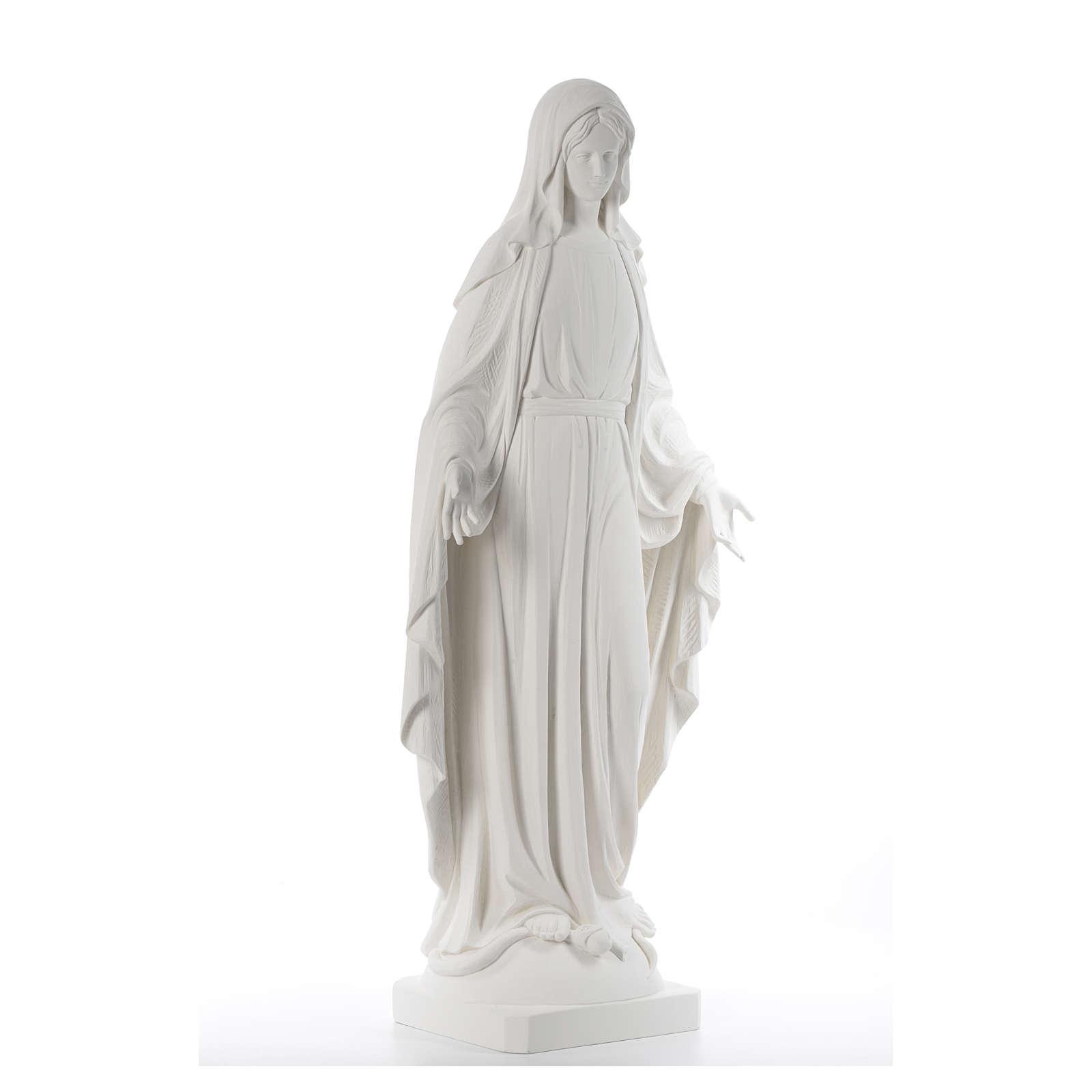 Statua Madonna Miracolosa 100 cm vetroresina 4