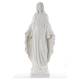 Our Lady of Miracles fiberglass statue, 100 cm s1