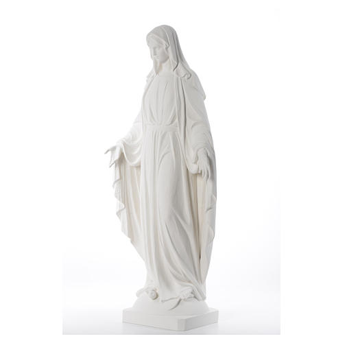 Our Lady of Miracles fiberglass statue, 100 cm 2