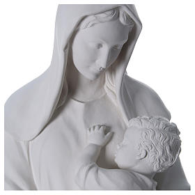 Our Lady with Child statue in fiberglass, 170 cm s2