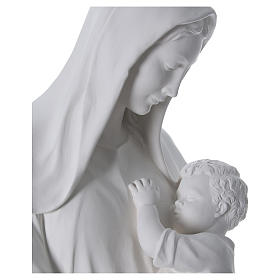 Our Lady with Child statue in fiberglass, 170 cm s4