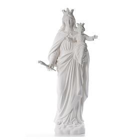 María Auxiliadora 120 cm. fibra de vidrio blanca s1