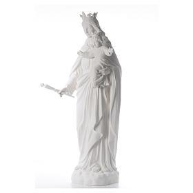María Auxiliadora 120 cm. fibra de vidrio blanca s2