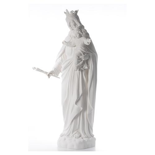 María Auxiliadora 120 cm. fibra de vidrio blanca 2