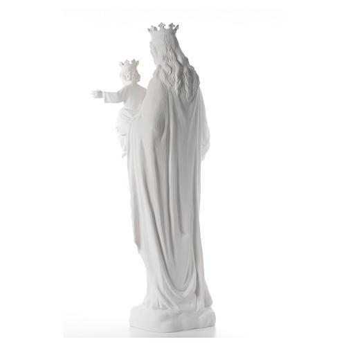María Auxiliadora 120 cm. fibra de vidrio blanca 3