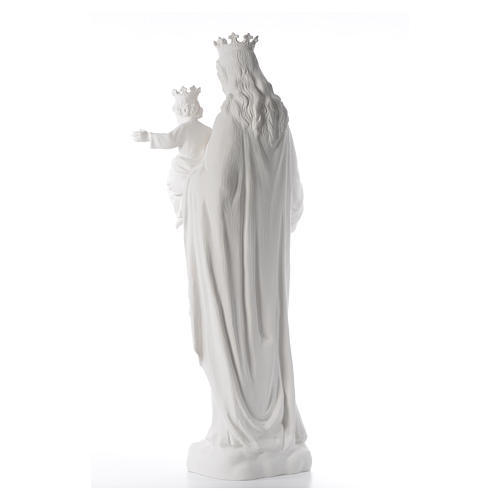 Maria Ausiliatrice cm 120 cm vetroresina bianca 3