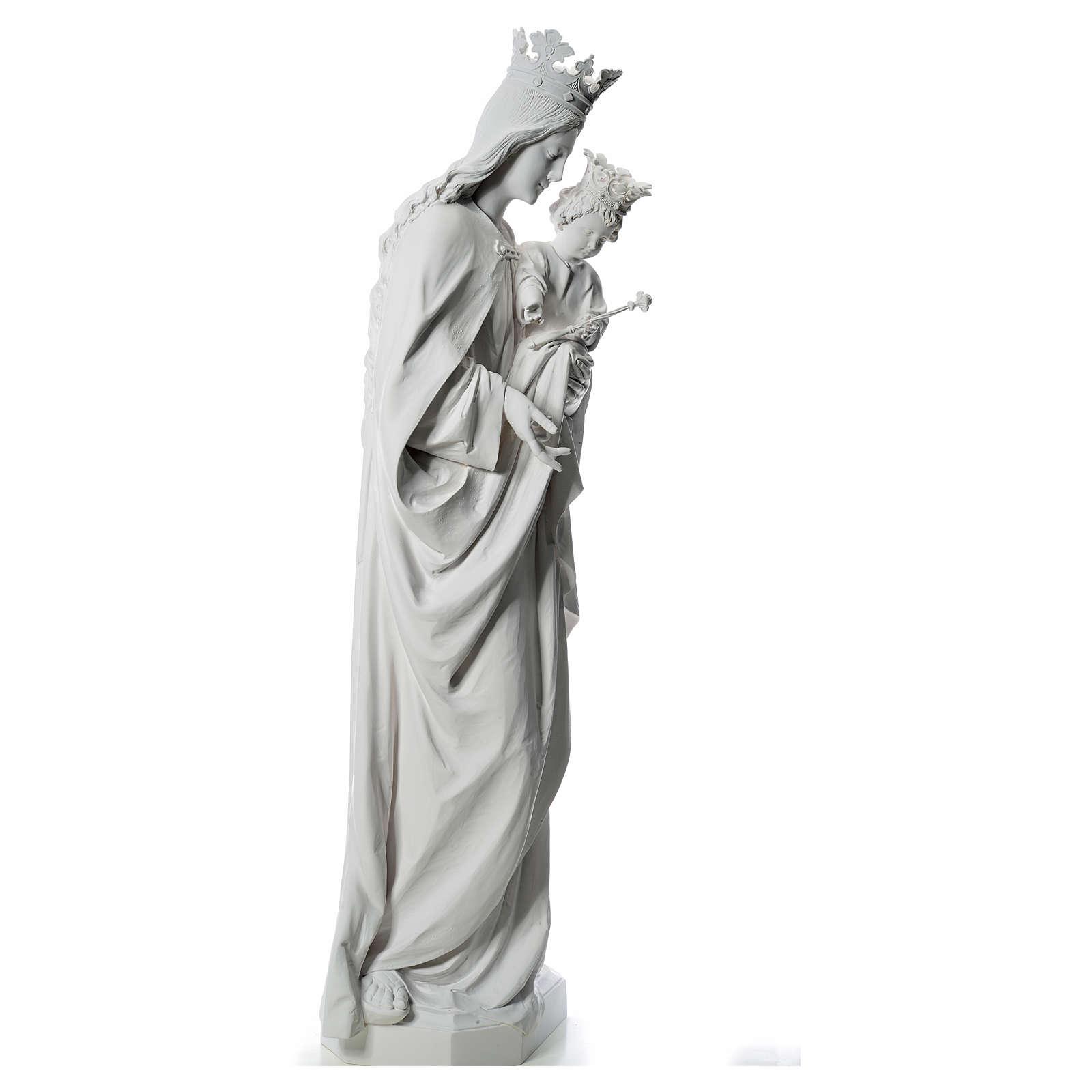 María Auxiliadora 180 cm. fibra de vidrio blanca 4