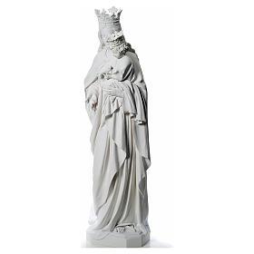 María Auxiliadora 180 cm. fibra de vidrio blanca s2