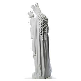 María Auxiliadora 180 cm. fibra de vidrio blanca s3