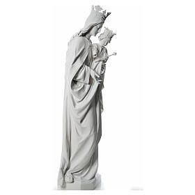María Auxiliadora 180 cm. fibra de vidrio blanca s4