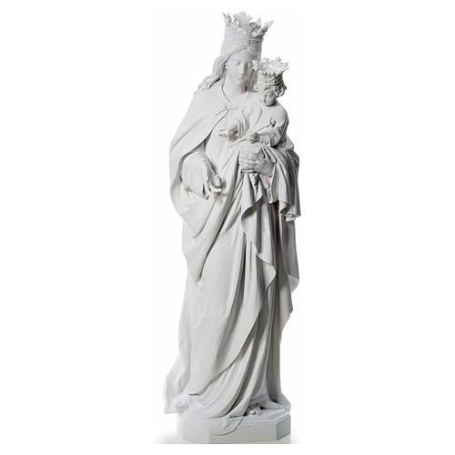 María Auxiliadora 180 cm. fibra de vidrio blanca 1