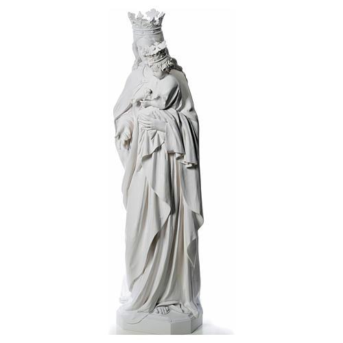 María Auxiliadora 180 cm. fibra de vidrio blanca 2