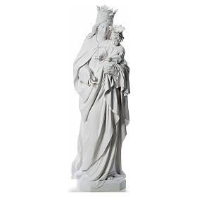Maria Ausiliatrice cm 180 vetroresina bianca s1