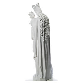 Maria Ausiliatrice cm 180 vetroresina bianca s3