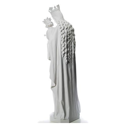Maria Ausiliatrice cm 180 vetroresina bianca 3