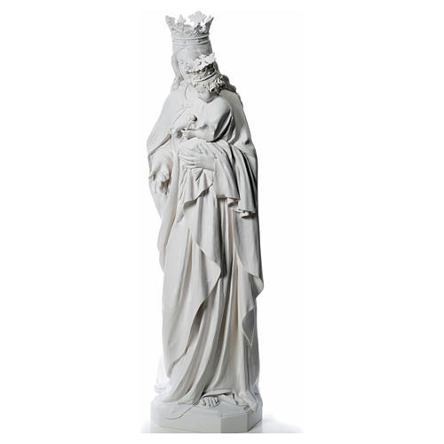 Mary Help of Christians statue in fiberglass, 180 cm 2