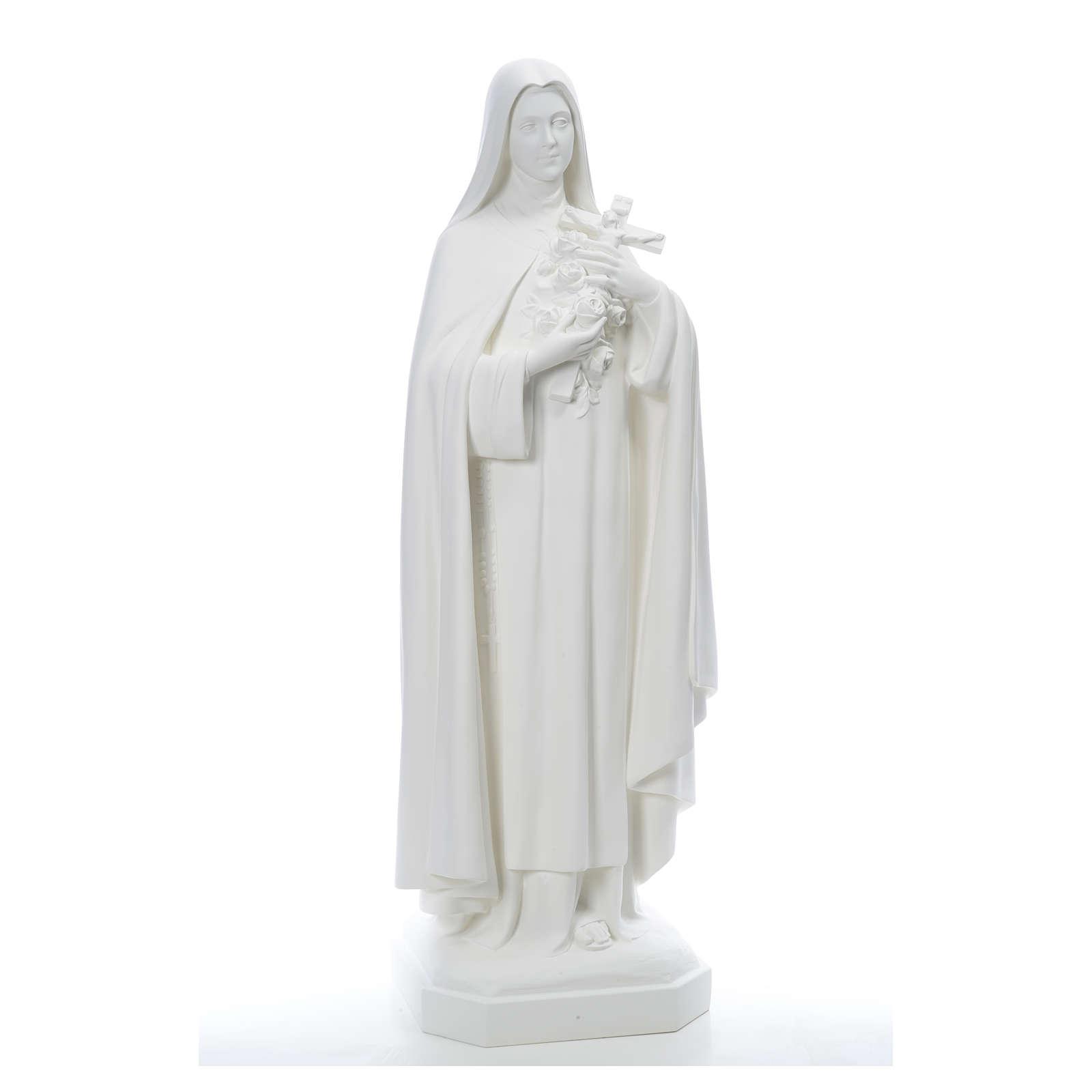 Santa Teresa cm 150 cm vetroresina bianca 4