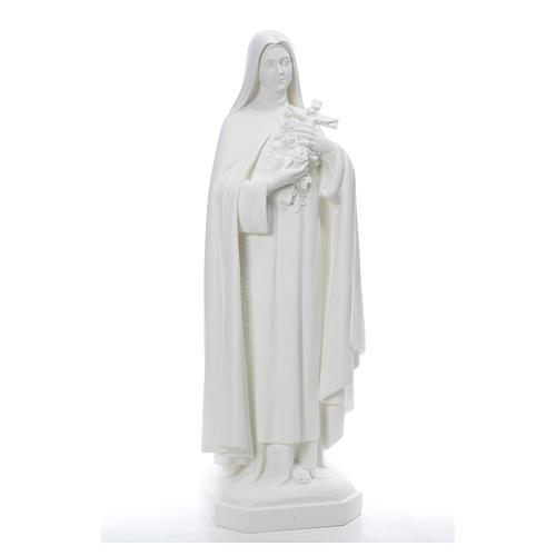 Santa Teresa cm 150 cm vetroresina bianca 1
