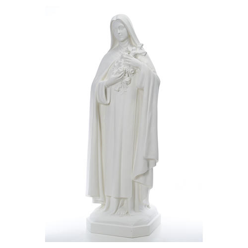 Santa Teresa cm 150 cm vetroresina bianca 2